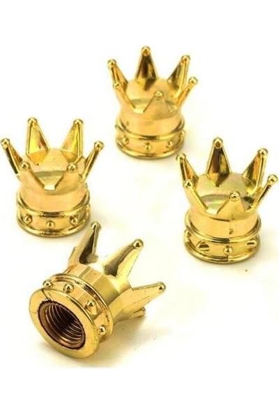 Boostzone Kral Tacı Sibop Kapağı Gold