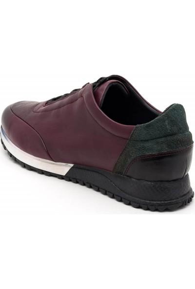 İriadam 4348-Bordo-Analin Büyük Numara Spor Ayakkabı