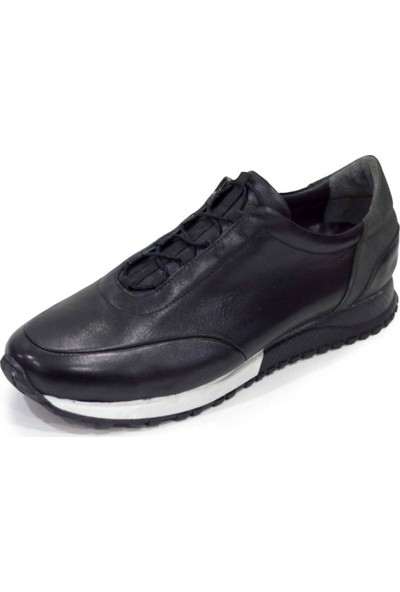 İriadam 4348 Siyah Analin Büyük Numara Spor Ayakkabı