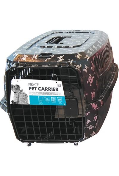M-Pets Pırate Taşıma Kabı Siyah 46*31*23 Cm
