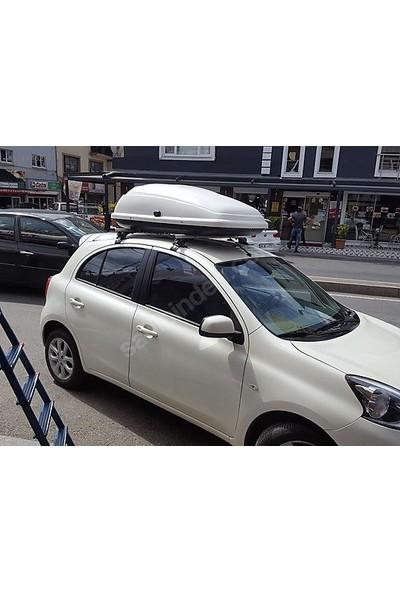 Niken Honda Jazz Araç Üstü Port Bagaj Tabut Bagaj 350 Litre