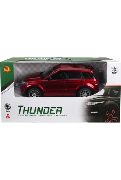 Suncon R/C 1/14 Ölçek Uzaktan Kumandalı Araba Şarjlı Range Rover Jeep - Kırmızı
