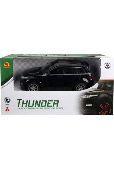 Suncon R/C 1/14 Ölçek Uzaktan Kumandalı Araba Şarjlı Range Rover Jeep - Siyah