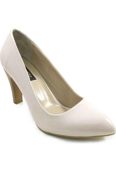 Costo Shoes 1071 Pudra Büyük Numara Kadın Ayakkabısı