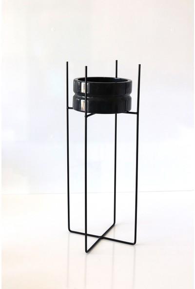 Lica Concept Minimal Metal Saksılık Büyük Boy
