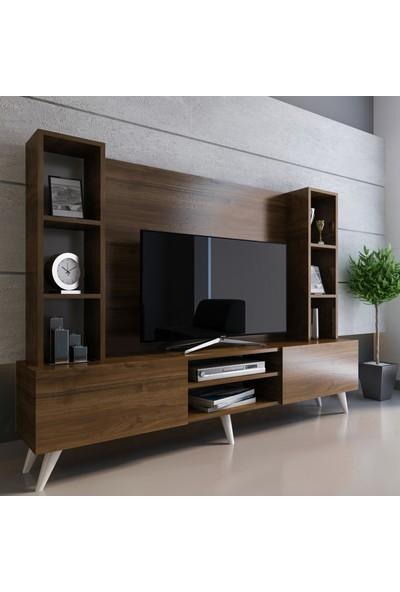 Evmonte - Zirve Tv Ünitesi Ceviz X251