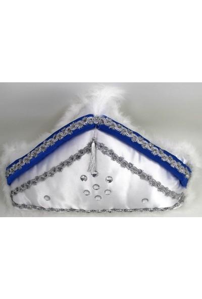 Brode Sünnet Takı Yastığı Sünnet Şapkası Şeklinde ( 45cm * 27 cm)