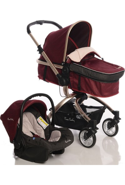 Pierre Cardin PC-405 Twist Travel Bebek Arabası Bordo