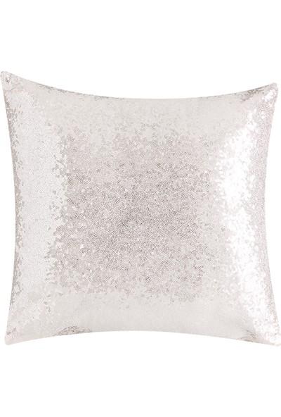Bella Maison Diamond Dekoratif Yastık Ekru