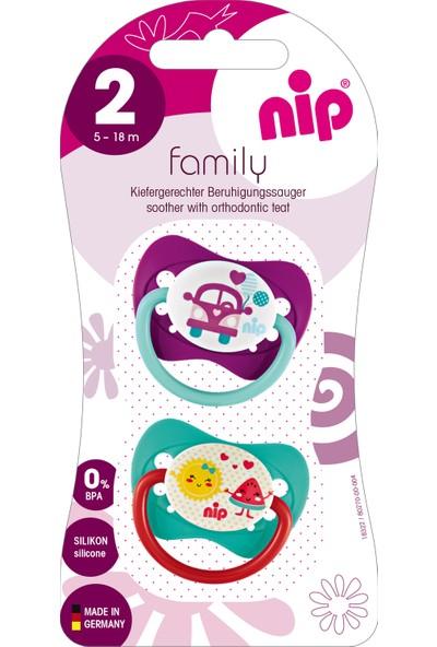 Nip Family Silikon Emzik 5 - 18 Ay