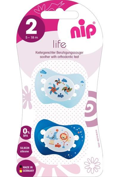 Nip Life Silikon Emzik 5 - 18 Ay