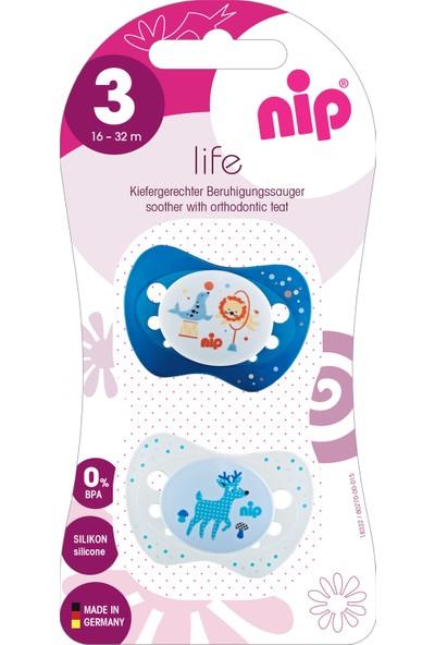 Nip Life Silikon Emzik 16 - 32 Ay
