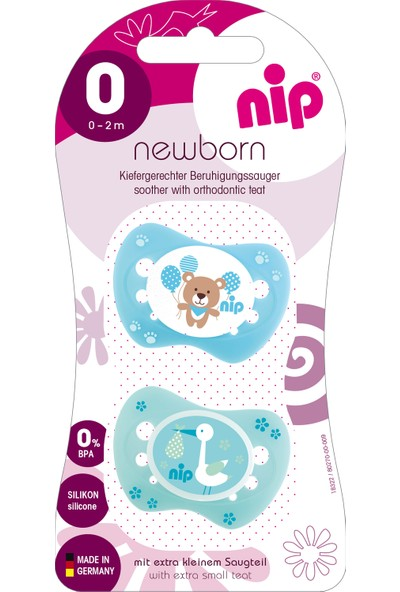 Nip Newborn Silikon Emzik 0 - 2 Ay