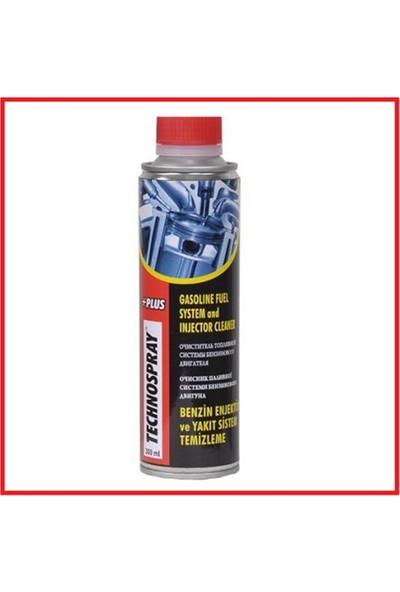 Technospray Benzin Enjektör Ve Yakıt Sistemi Temizleme 300 Ml