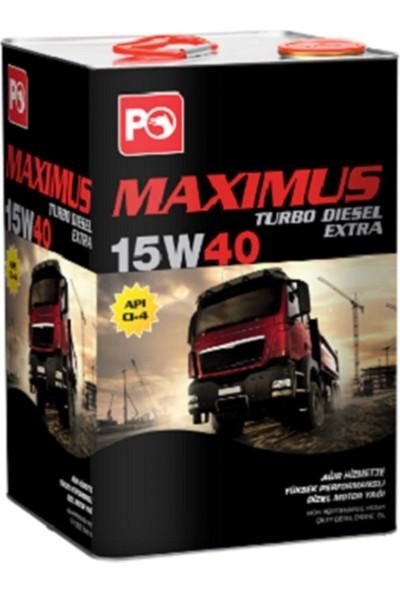 Petrol Ofisi Maximus Turbo Dizel Extra 15W-40 Diesel 16 Kg