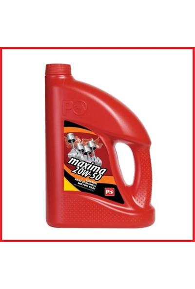 Petrol Ofisi Maxima 20W-50 Benzinli Motor Yağı 4 Litre