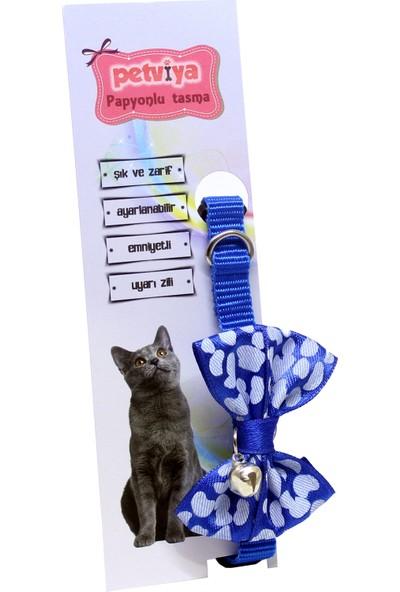 Petviya Papyonlu Zilli Kedi Boyun Tasması
