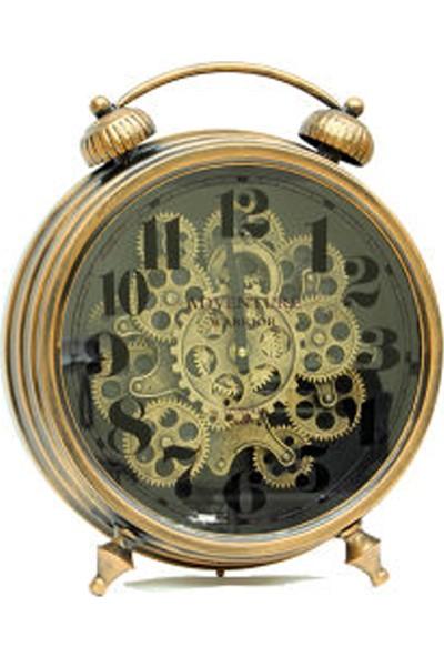 Mnk Saat Çarklı Masa Saati