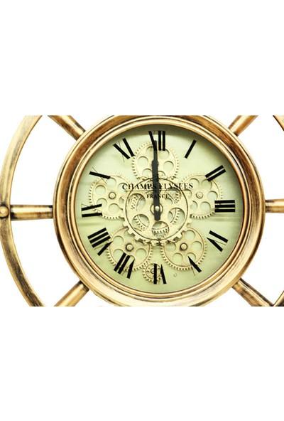 Crownwell Saat Çarklı Dümenli