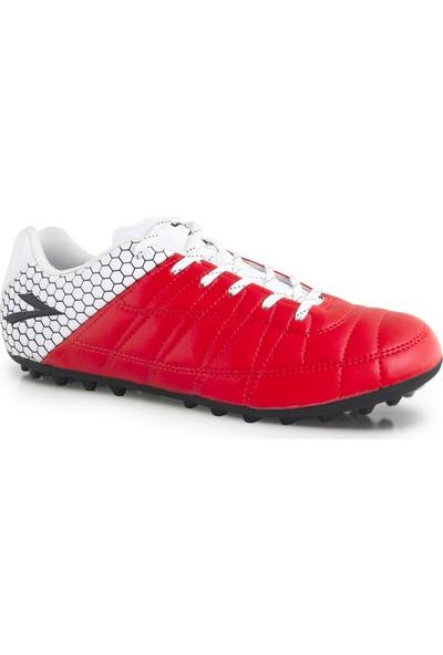Lig Ilgaz Halı Saha Ayakkabısı Kırmızı- Beyaz