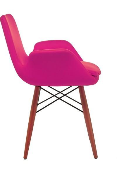 Seduna Maxim Pembe Sandalye - Bekleme Koltuğu - Cafe Sandalye