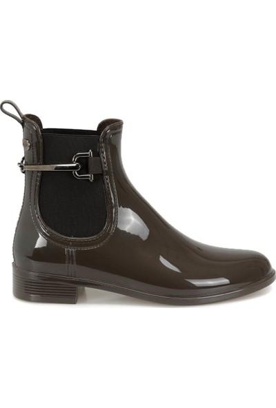 Igor W10173 Urban Trabilla-122 Kahverengi Kadın Yağmur Çizmesi