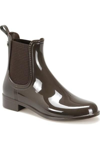 Igor W10185 Urban-122 Kahverengi Kadın Yağmur Çizmesi