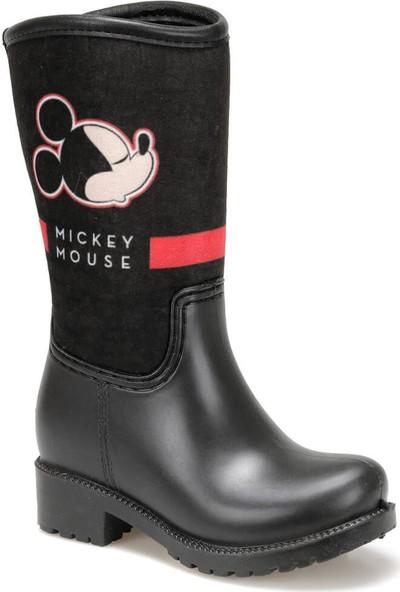 Mickey Mouse 97269 Siyah Kız Çocuk Yağmur Çizmesi