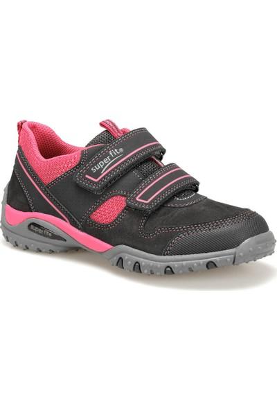 Superfit 3-09224-22 Gri Pembe Kız Çocuk Ayakkabı