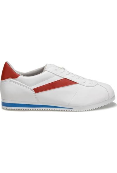 Torex Zeus Pu Beyaz Kırmızı Saks Erkek Sneaker