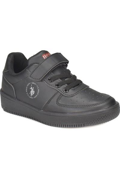 U.S. Polo Assn. Dimler Siyah Erkek Çocuk Sneaker Ayakkabı