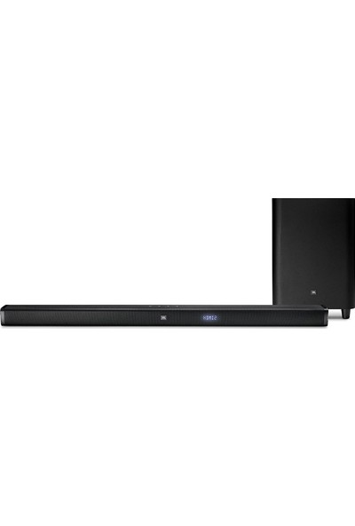 JBL Bar 3.1 4K Ultra HD Soundbar ve Kablosuz Subwoofer