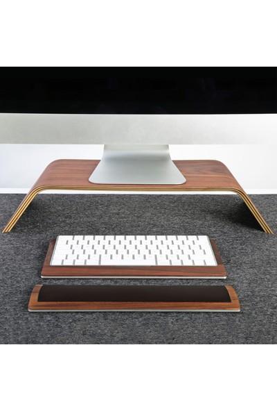 Fagus Wood i Mac Mini Masa Düzenleyici