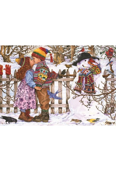 Anatolian 500 Parça İlk Öpücük Puzzle - Wendy Edelson