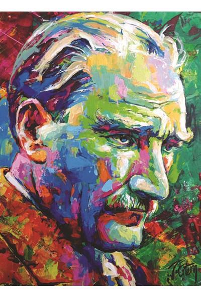 Anatolian 1000 Parça Mustafa Kemal Atatürk 2018 Puzzle - Tolga Ertem