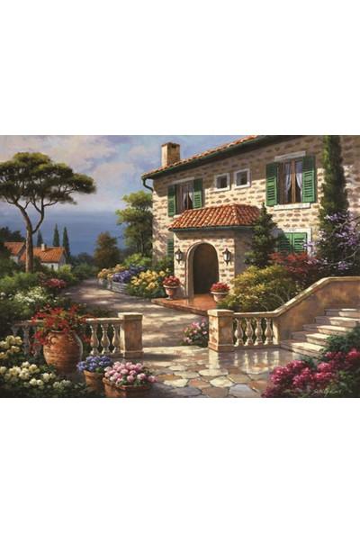 Anatolian 1000 Parça Villa Delle Fontana Puzzle - Sung Kim