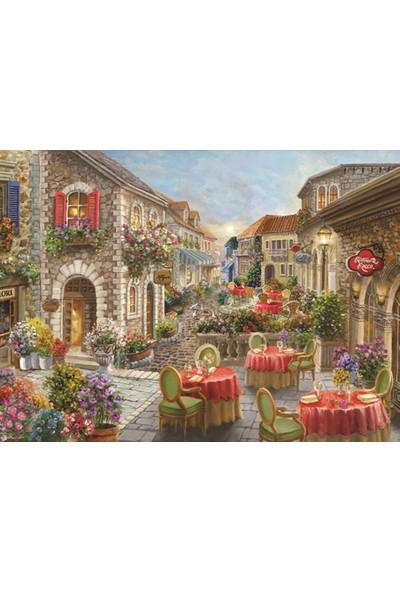 Anatolian 1000 Parça Çiçekli Kafeler Sokaği Puzzle - Nicky Boehme