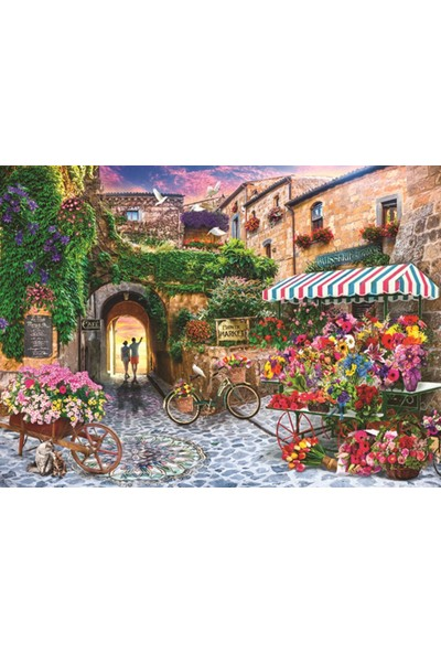 Anatolian 1000 Parça Çiçek Pazari Puzzle - Jason Taylor