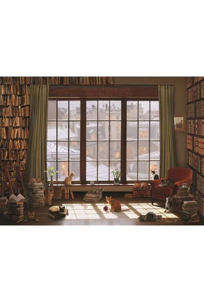 Anatolian 1000 Parça Pencere Kedileri Puzzle - David Maclean