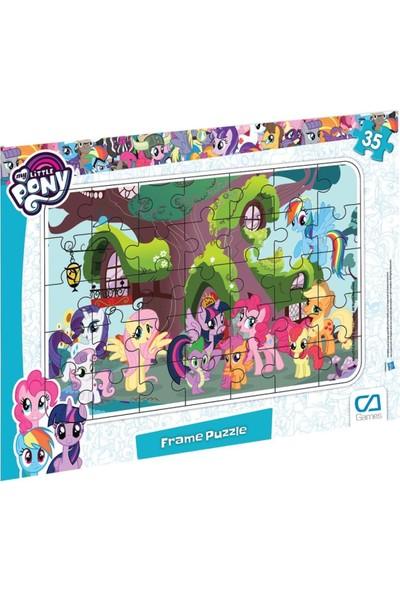 Ca Games 35 Parça My Little Pony Çerçeveli Frame Puzzle - 5013