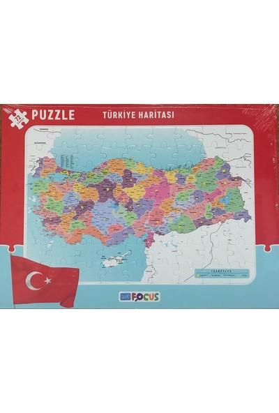 Blue Focus 72 Parça Çerçeveli Türkiye Haritasi Puzzle Bf090