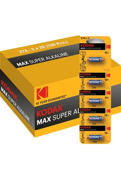 Kodak 100 Adet Ultra Alkalin Kumanda Pili