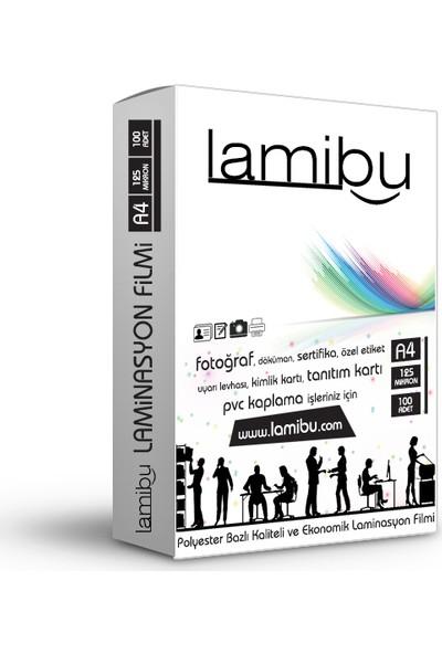 Lamibu A4 Laminasyon Filmi/Poşeti 125 Mikron Parlak (216X303) 100'Lü