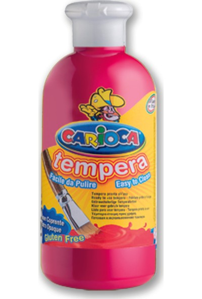 Carioca Tempera Suluboya Süper Yikanabilir Fuşya 500 Ml.