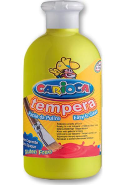 Carioca Tempera Suluboya Süper Yikanabilir Açik Sari 500 Ml.