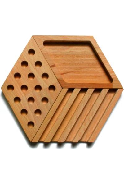 Fagus Wood Desre Masa Düzenleyici