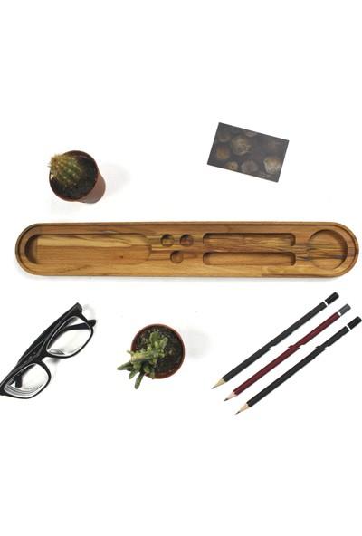 Fagus Wood Thin Lotus Masa Düzenleyici