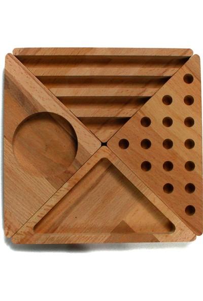 Fagus Wood Piece Masa Düzenleyici