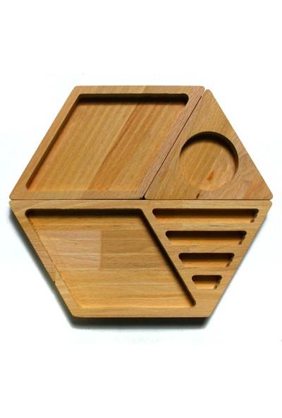 Fagus Wood Touche Masa Düzenleyici