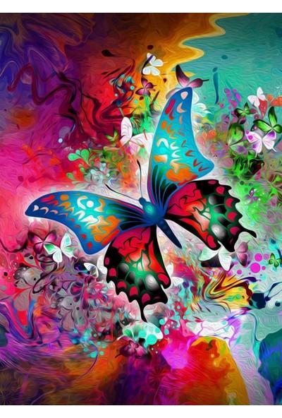 Nova Puzzle 1000 Parça Kelebeğin Doğuşu Fantastik Puzzle - 41021